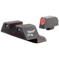 Светящиеся мушка и целик Glock от Trijicon (GL101O)