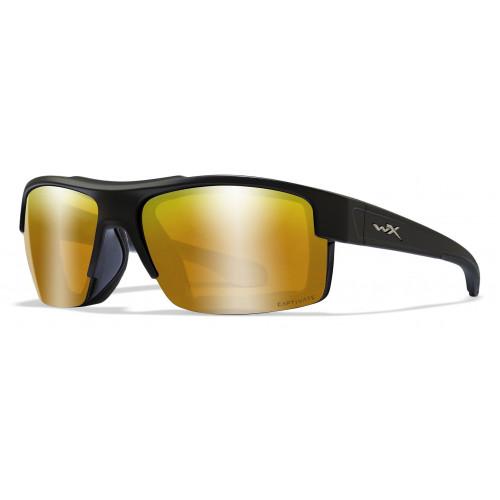 Очки COMPASS Captivate Bronze Mirr. Matte Black Frame с матовой черной оправой и бронзовыми линзами Captivate
