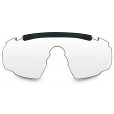 Очки SABER ADV Smoke/Clear/Rust Tan Frame с песочной оправой и серыми/прозрачными/оранжевыми линзами