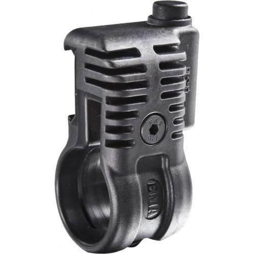 Крепление для фонаря пикатинни - 25,4 мм (быстросъемное крепление) PLS1Q (черная)