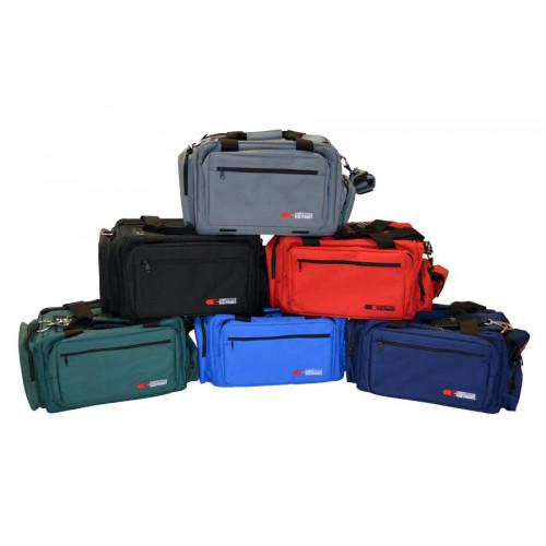 Сумка стрелковая CED Deluxe Professional Range Bag, красная
