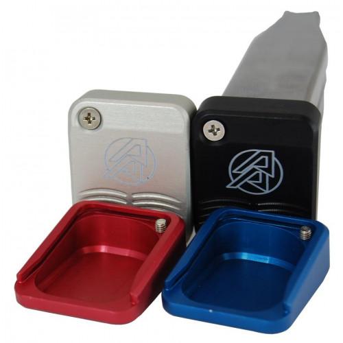 Стандартные алюминиевые пятки DAA  для магазинов, серые