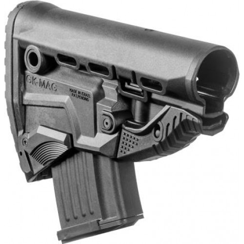 Полимерный приклад с отсеком для магазина АК GK-MAG
