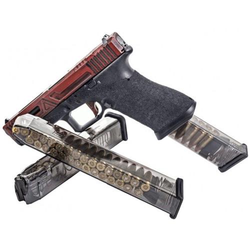 Магазин ETS, 31 зарядный для пистолета Glock 17, 18, 19, 19x, 26, 34, 45