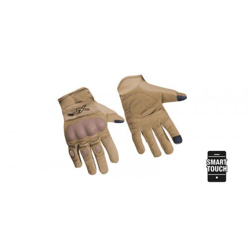 Перчатки DURTAC SmartTouch Tan с сенсорным пальцем, размер XXL, песочно-коричневые
