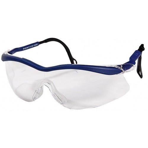 Очки открытые защитные из поликарбоната, с покрытием DX, цвет линз прозрачный 3M™ QX2000