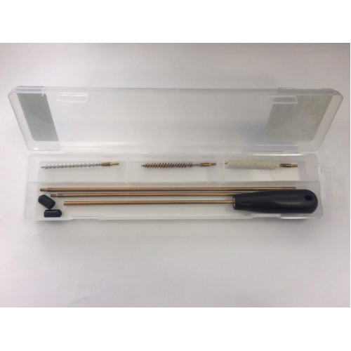 Набор для чистки латунный шомпол 4,5 мм BH-CK07, прозрачный бокс