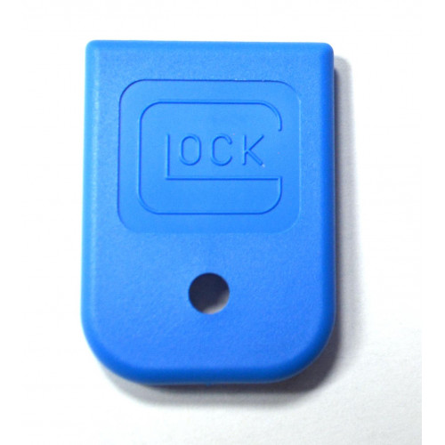 Пятка заглушка на магазин Glock (синий)