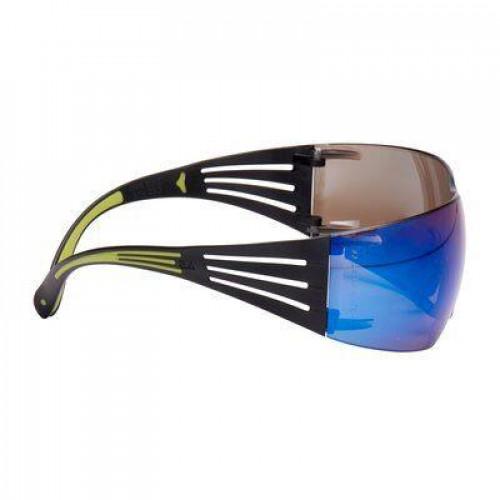 Защитные очки 3M™ SecureFit™, цвет линз зеркальный синий