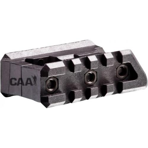 Полимерное 2 рельсовое крепление на мушку для М16/М4/AR-15 FSM15P (черный)