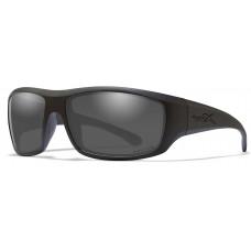 Очки OMEGA Captivate Smoke Grey Matte Black Frame с матовой черной оправой и дычато-серыми линзами Captivat