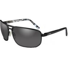 Очки HAYDEN Smoke Grey Matte Black с матовой черной оправой и дымчато-серыми линзами