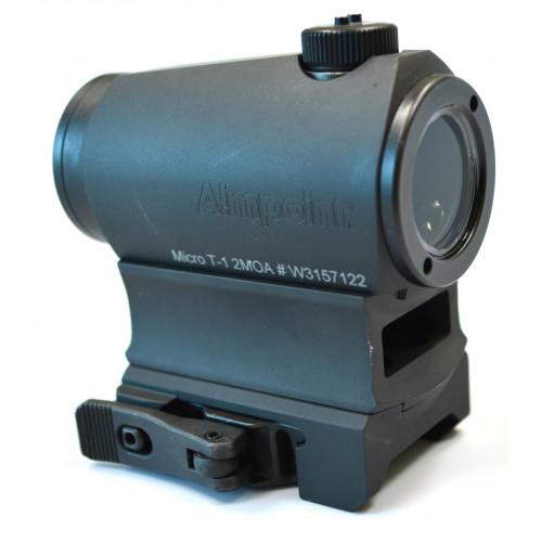 Коллиматорный прицел Aimpoint Micro T-1 2MOA с высоким креплением
