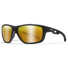 Очки ASPECT Captivate Bronze Mirror Matte Black Frame с матовой черной оправой и бронзовыми линзами Captivate