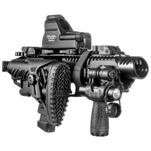 Преобразователь пистолета в карабин Glock 17-19, чёрный
