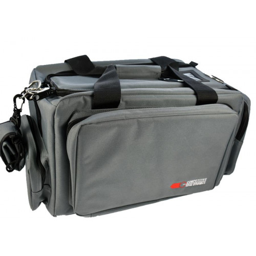 Сумка стрелковая CED Deluxe Professional Range Bag, серая