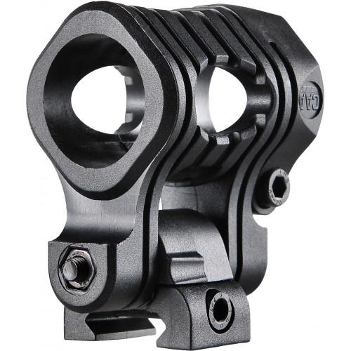 Пятипозиционное крепление для фонаря пикатинни - 24,4-27 мм UFH3