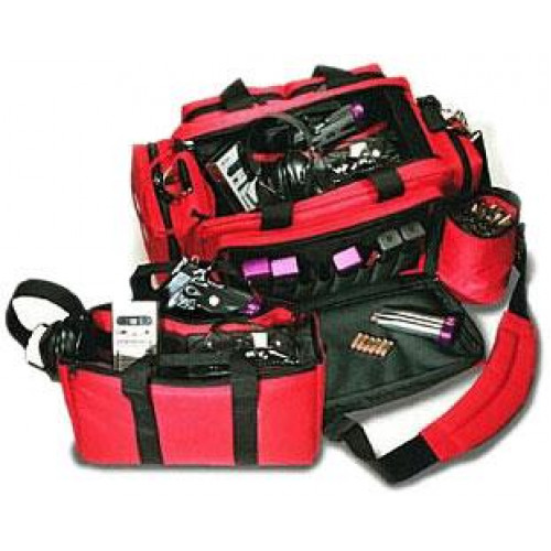 Стрелковая сумка CED XL-Professional Range Bag , красная