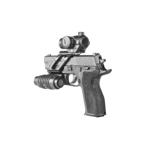 Универсальное пистолетное крепление прицела на пистолет