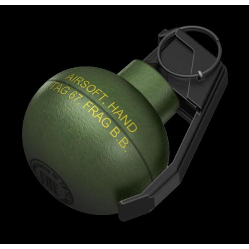 Страйкбольная ручная имитационная граната (TAG-67)