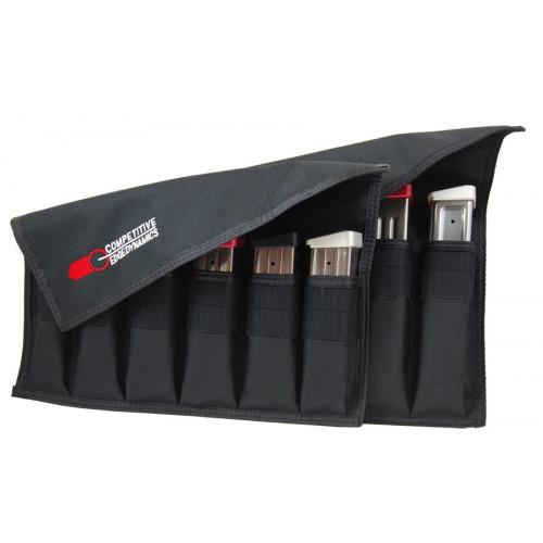 Подсумок для магазинов,6ти рядный,с регулируемой крышкой  CED Magazine Storage Pouches Extended