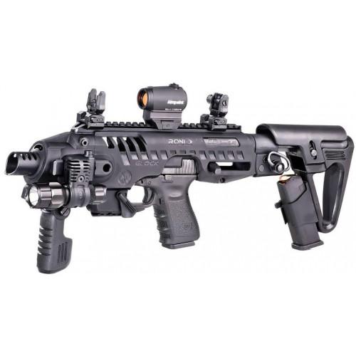 Преобразователь пистолета Glock 17, 18, 19, 22, 23, 25, 31, 32 RONI-G2-9 (Черный)