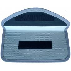 Чехол-блокиратор сигнала мобильного телефона (19*10), серый