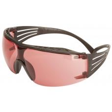 Очки открытые защитные, цвет линз розовый, с покрытием Scotchgard™ Anti-Fog (K&N) 3M™ SecureFit™