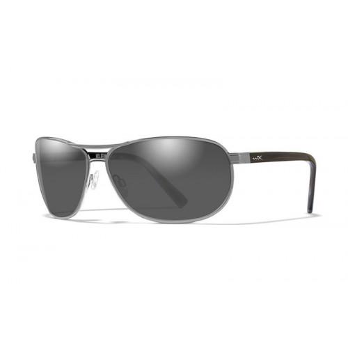 Очки WILEY X KLEIN SILVER с дымчато-серыми линзами