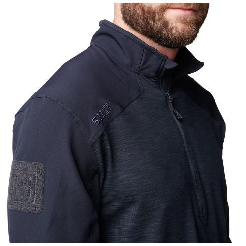Рубашка RAPID HALF ZIP, L/S