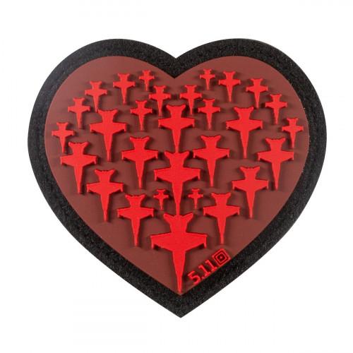 Патч 5.11 AIRPLANE HEART