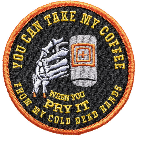 Патч 5.11 COLD DEAD CAFFEINE