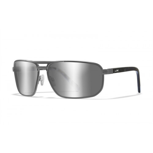 Очки WILEY X HAYDEN GUNMETAL с серебристо-серыми линзами
